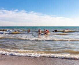 Пляжи Железного Порта